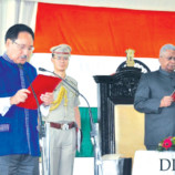 Roy sworn in as governor, administers oath of office to Dr Begi as SIC chief