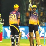 Narine's fastest fifty scripts KKR's easy win over RCB