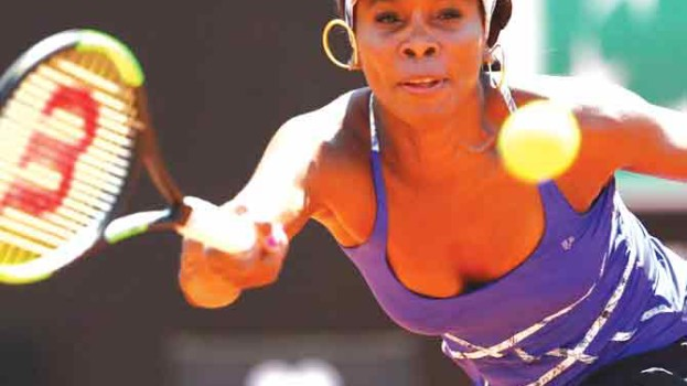 Williams sees off Konta to reach Rome quarters