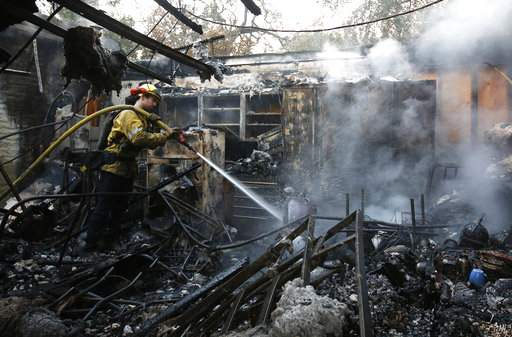 California wildfires reduces years-long dreams to embers