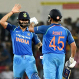 Rohit's masterful knock gives India 4-1 series win