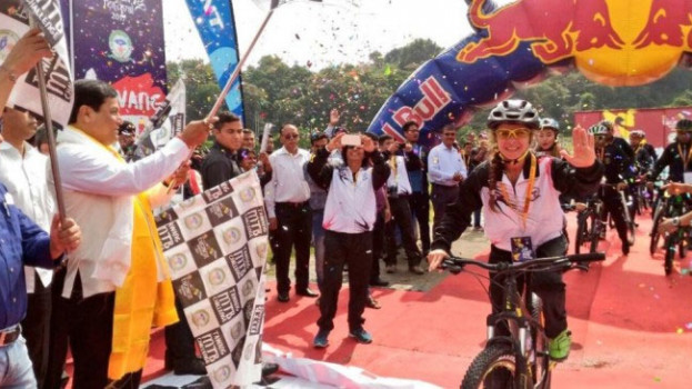 Tawang MTB challenge flagged off