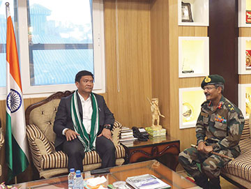 Over 1000 acre for Army in capital