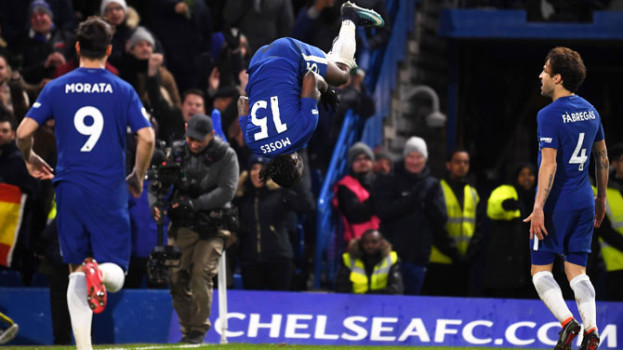 EPL : Chelsea beat West Brom, move back into top four