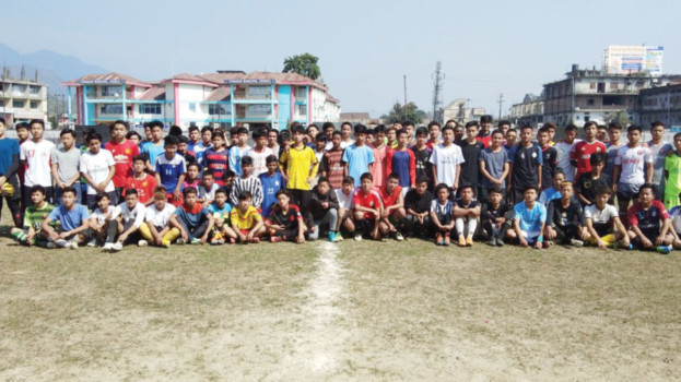 TFA conducts open trial for U-16 players