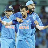 Wrists of Fury: Chahal, Yadav on target as India win by 9 wkts