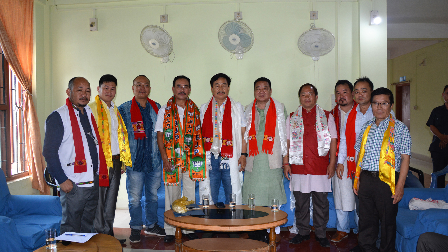 bjp zonal office foundation laid